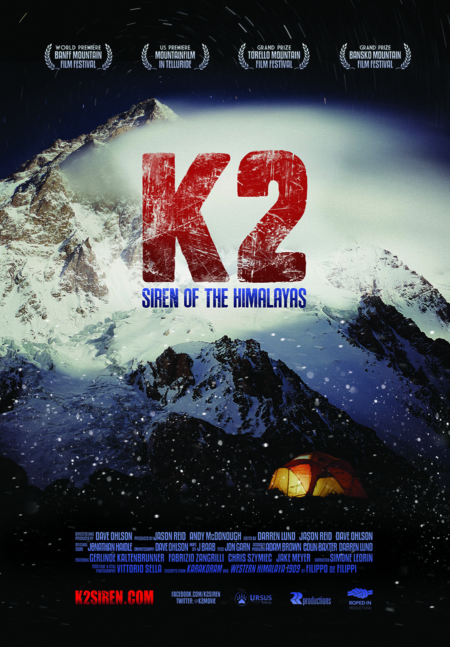 K2: SIREN OF THE HIMALAYAS official movie poster
